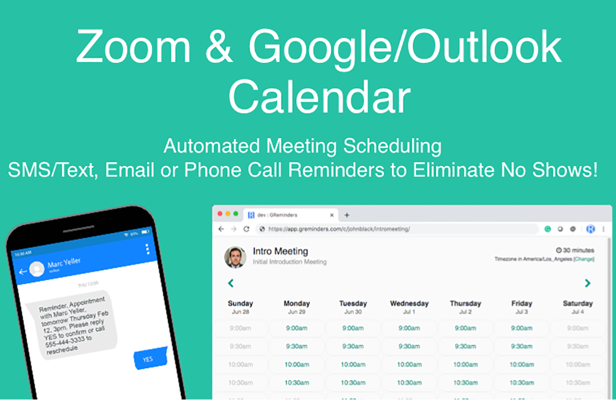 Zoom Meeting Scheduler