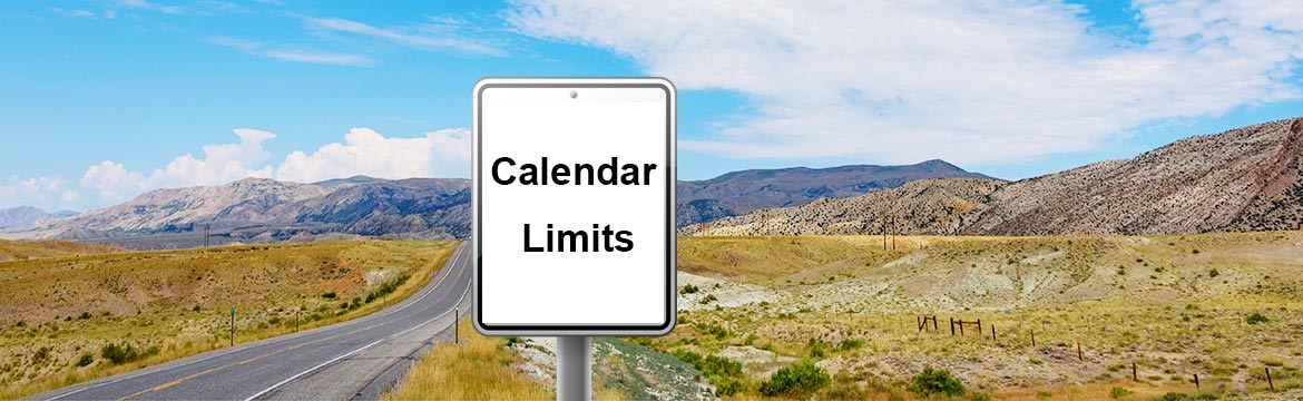 Google Calendar Limits on Bookings