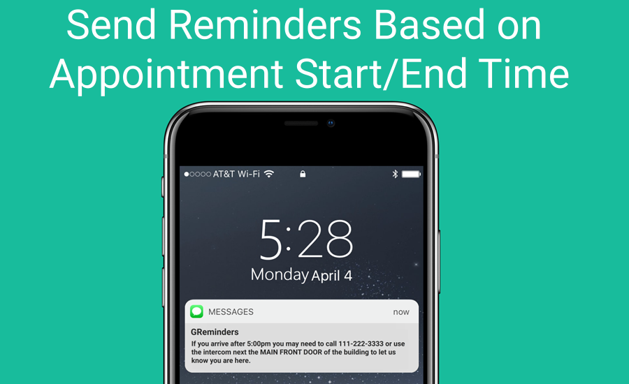 Reminders for Special Start Ties