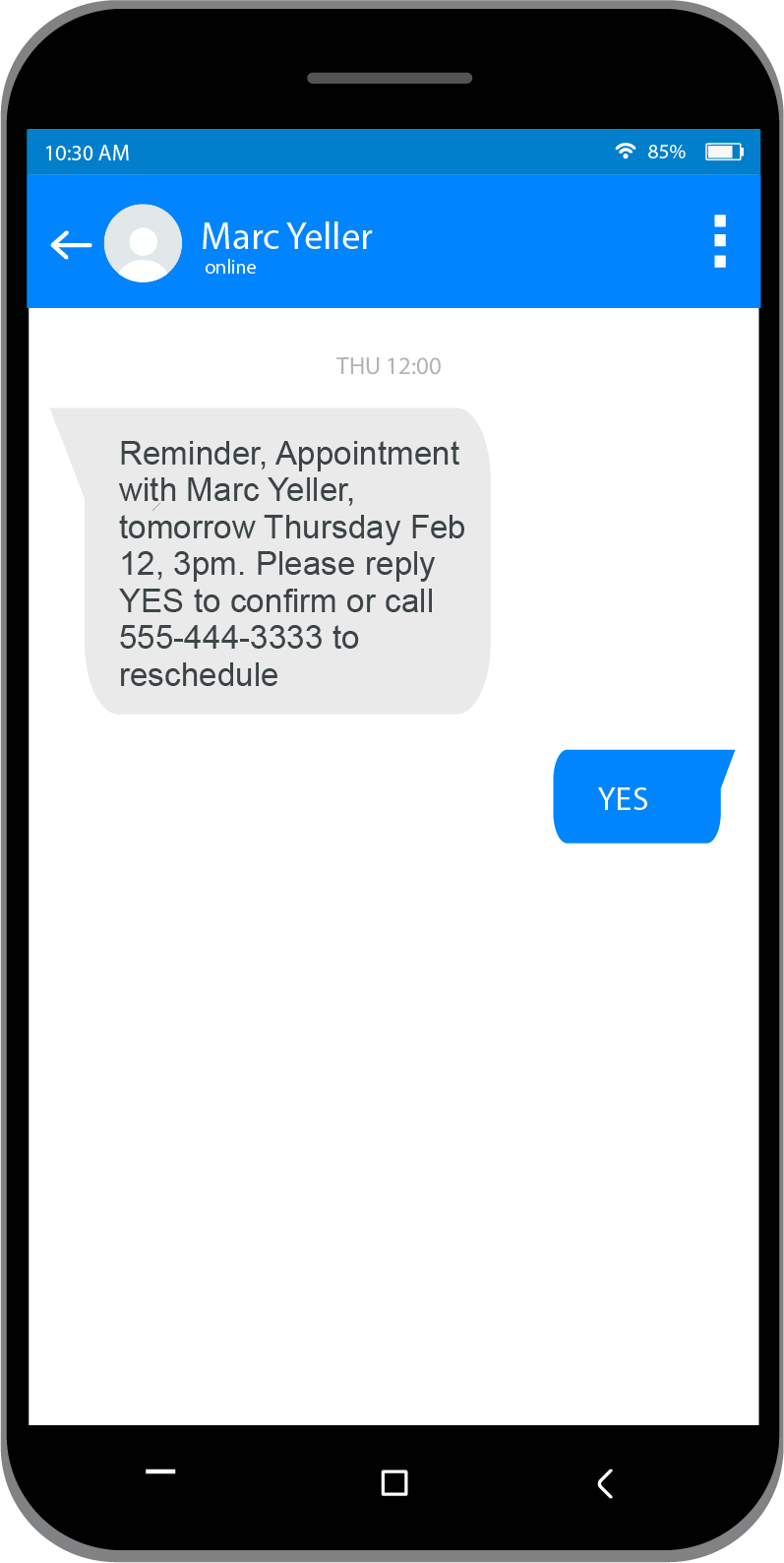 SMS Appointment Reminders